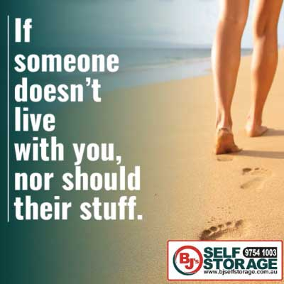 Denise Gibb Content Writer quote of the day meme example BJ's Self Storage 2