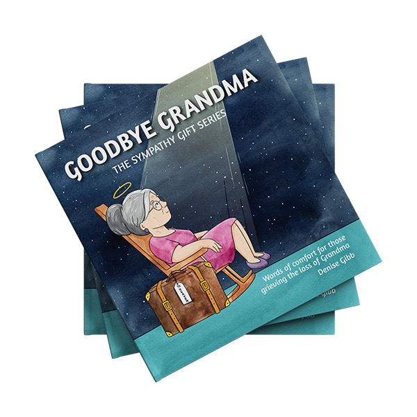Book cover of Goodbye Grandma by Denise Gibb