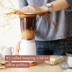 Keeping a lid on office politics meme